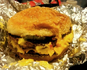 Five Guys, almost nothing