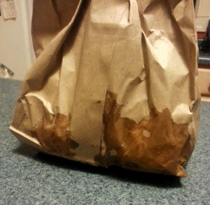 Five guys, bag