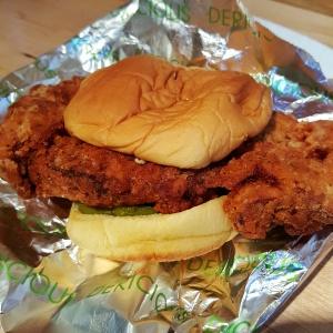 Fuku Spicy Chicken Sandwich