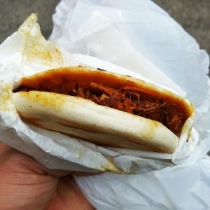 Xi'an Famous Foods Pork Burger