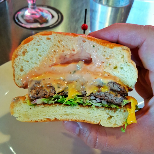 Surly Burger cross section